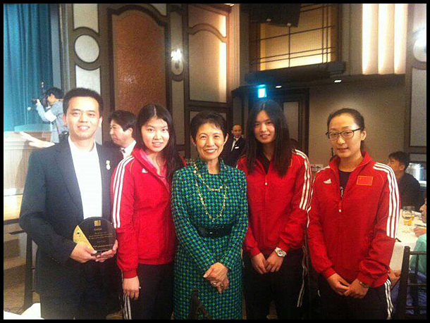 第9届东亚壁球锦标赛东京举行 中国队获女团第3