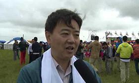 杨战旗谈射箭运动发展