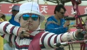2014奥项赛女子个人1/4淘汰赛