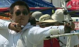 2014射箭奥项赛 男子团体1/8淘汰赛