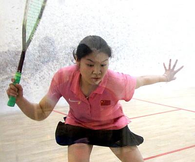 2014中国壁球巡回赛(北京站)女甲李东锦VS顾金�h
