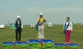 2014奥项赛个人赛颁奖仪式