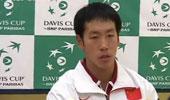 [视频]-戴维斯杯第一场落幕 赛后新闻发布会