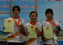 全国轮滑锦标赛颁奖