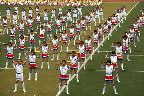 2014年赛艇软式棒垒球夏令营开幕式-中国坐垫协全国300垒球图片
