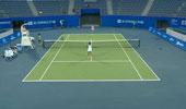 ITF女子网球武汉站 亚当萨克vs王蔷