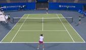 ITF女子网球武汉站  张宇璇vs张玲