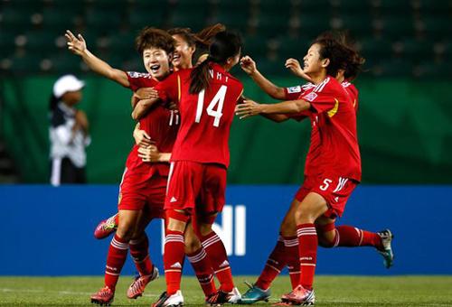 U20女足世界杯中国1-1巴西