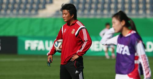 中国国青女足主教练王军