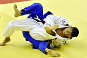 南京青奥会柔道男子-66公斤级 吴志强摘铜