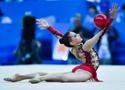 青奥会艺术体操个人全能决赛赛况