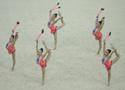 青奥会艺术体操集体全能 俄罗斯队夺冠