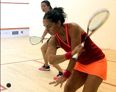 2014年中国壁球公开赛 女子八强赛争夺赛