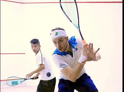 2014年中国壁球公开赛八强赛男子比赛