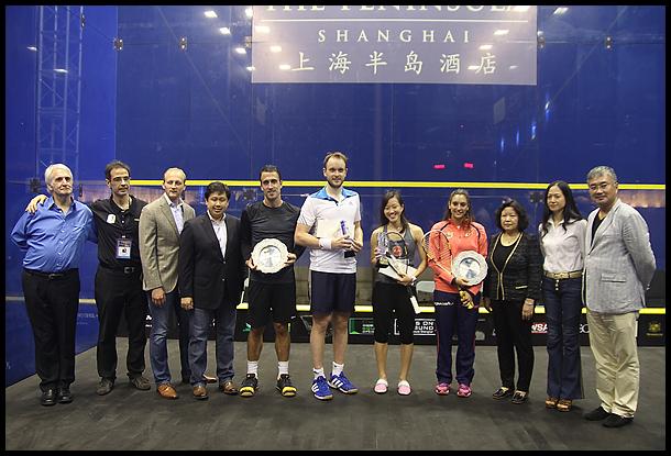 2014年中国壁球公开赛 颁奖仪式在半岛酒店举行
