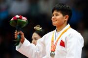 杨俊霞获亚运会女子-63公斤级柔道银牌