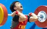 吴景彪获仁川亚运会男子56公斤级举重铜牌