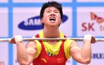 仁川亚运会女举58公斤级 王帅摘银朝鲜选手封后
