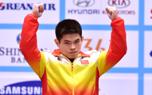男子69公斤级 林清峰为中国举重队摘首金