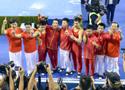 世锦赛男团 中国队夺冠