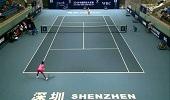深圳中国网球大奖赛 王蔷2-1杨钊煊