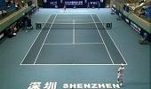 深圳中国网球大奖赛 柏衍1-2高鑫