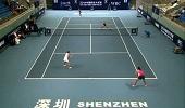 深圳中国网球大奖赛 段莹莹/徐一�[0-2杨钊煊/叶秋语