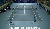 深圳中国网球大奖赛 王傲然/周喆0-2欧阳博文/高鑫