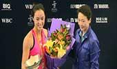 中国网球大奖赛女单颁奖