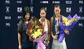 中国网球大奖赛女双颁奖典礼