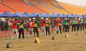 全国室外射箭锦标赛女子个人第一70米(1)
