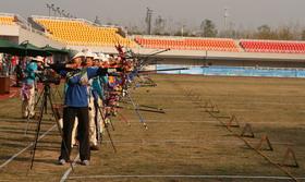 2014年全国室外射箭锦标赛女子个人第二70米排名赛(1)