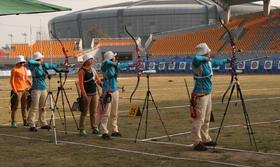 2014年全国室外射箭锦标赛女子个人第二70米排名赛(2)
