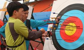 2014年全国室外射箭锦标赛男子个人第二70米排名赛(1)
