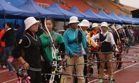 2014全国室外射箭锦标赛女子个人1/48淘汰赛
