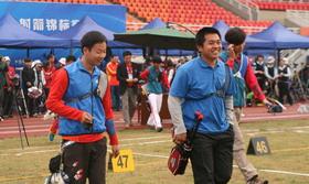 2014全国室外射箭锦标赛男子个人1/48淘汰赛