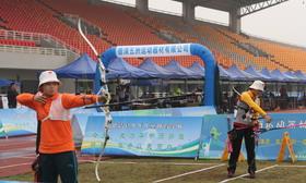 全国室外射箭锦标赛女子铜牌决赛:崔圆圆VS程明