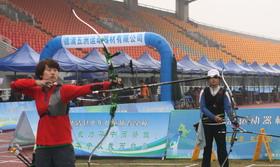 全国室外射箭锦标赛女子金牌决赛李佳蔓VS柴梦佳