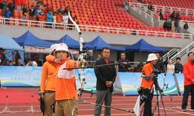 全国室外射箭锦标赛女团金牌决赛 山西VS吉林