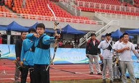 全国室外射箭锦标赛男团金牌决赛 辽宁VS广东