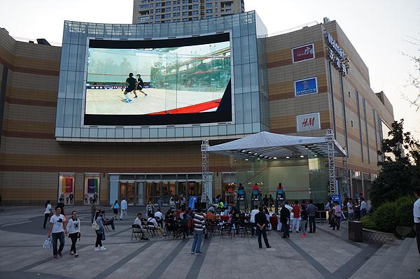 2014中国壁球巡回赛总决赛南京虹悦城广场举行