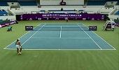WTA宁波站半决赛 卡尼亚0-2里纳特