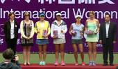 WTA女网宁波站双打颁奖仪式