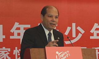 体操中心罗超毅主任在全国快乐体操高层论坛的演讲