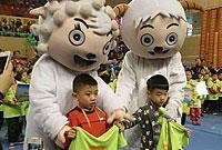 2014首届全国快乐体操赛在广州花都隆重开幕