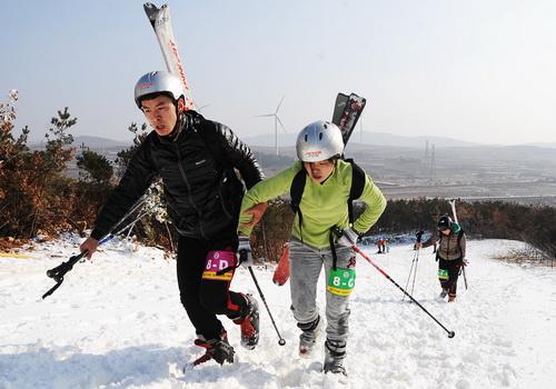 2015中国文登全国冬季山地户外挑战赛