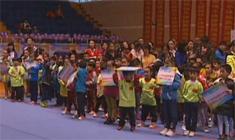 2014年首届全国快乐体操赛闭幕式