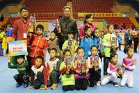 2014年首届全国快乐体操赛在广州花都闭幕