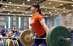 中国女举国家队春节前训练