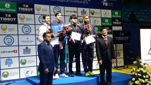 世青赛中国队获两枚铜牌